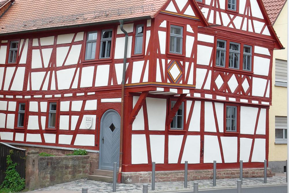 Das historische Rathaus nach seiner Sanierung.