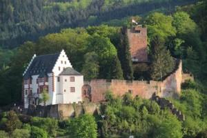 Eine klassische Kombination - auch in Miltenberg: Burg und Stadt