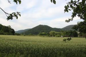 Der Gotthardsberg von Osten aus gesehen.