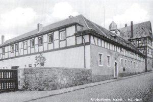 Aufnahme des Hitler-Jugendheims von 1938. Bild: Geschichtsverein Bachgau.