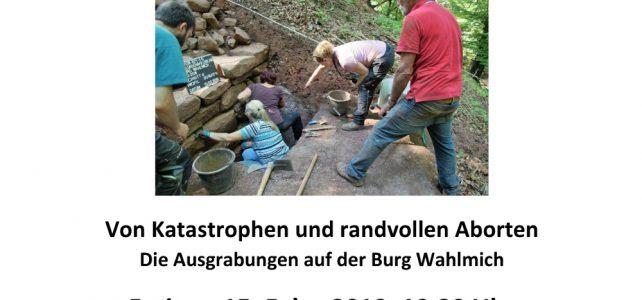 """Vortrag: """"Von Katastrophen und randvollen Aborten"""" in Waldaschaff"""