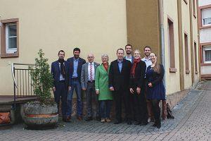 Der (fast komplette) Vostand und die Mitarbeiter der Burglandschaft e.V. nach getaner Arbeit.
