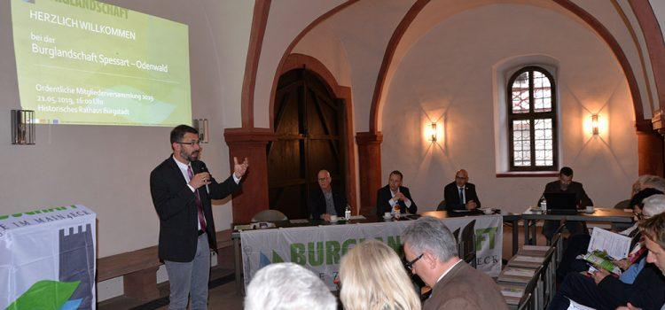 Mitgliederversammlung Burglandschaft e.V. 2019