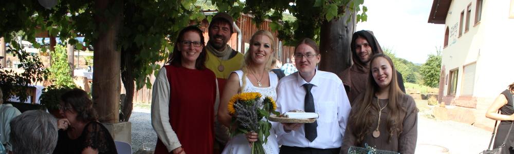 Alles Gute zur Hochzeit!