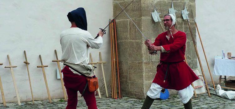 Seminar zu Historischen Europäischen Kampfkünsten am 22. bis 24.11.2019 auf Burg Rothenfels