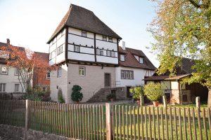 Für über 700 Jahre noch bzw. wieder gut in Schuss: Das Templerhaus ist das älteste erhaltene Fachwerkgebäude Bayerns