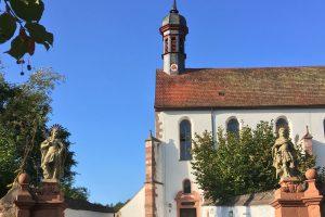 Aufgang zur Wallfahrtskirche