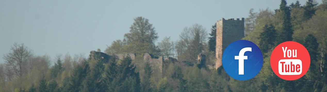 Die Burglandschaft auf social media