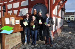 Unsere Team David Enders, Katja Focke, Regine Klein, Jürgen Jung und Thomas Hönle