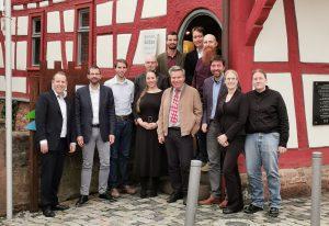 Vorstand und Mitarbeiter der Bruglandschaft
