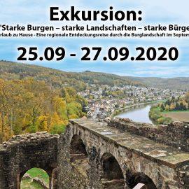 "EXKURSION : ""Starke Burgen – starke Landschaften – starke Bürger"""