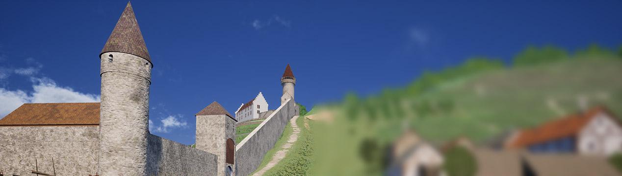 Die Scherenburg in Gemünden